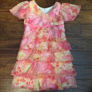 Super Sweet Girls Tiered Party Dress Size 6